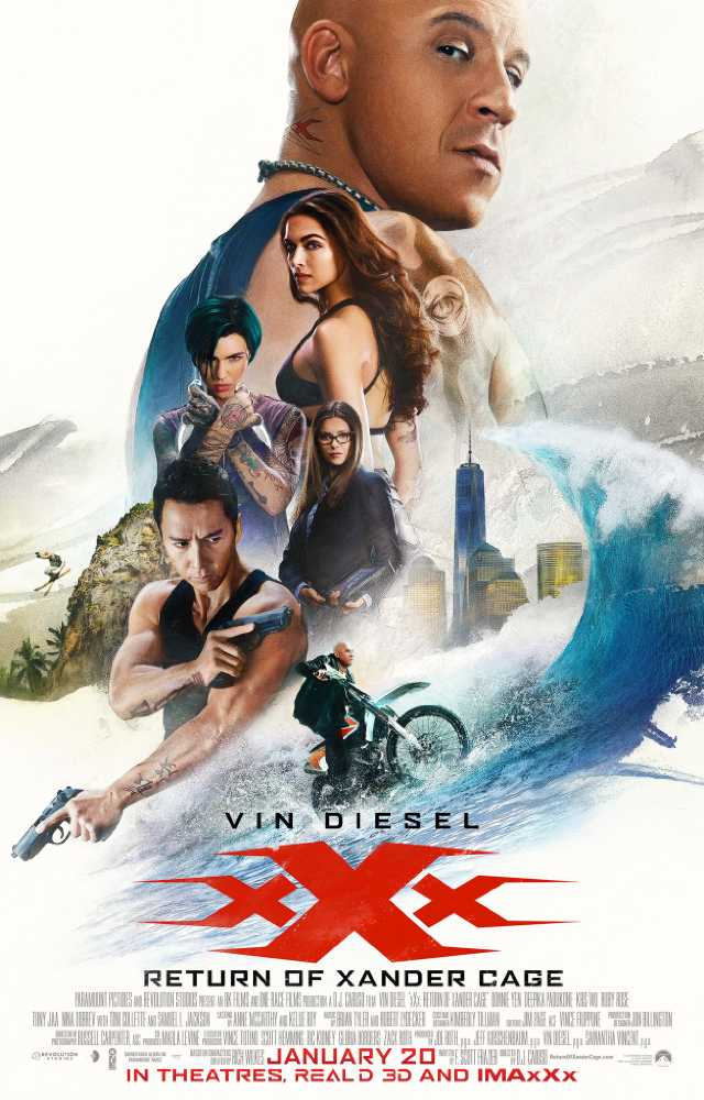 xXx Return of Xander Cage (2017) Movie Poster