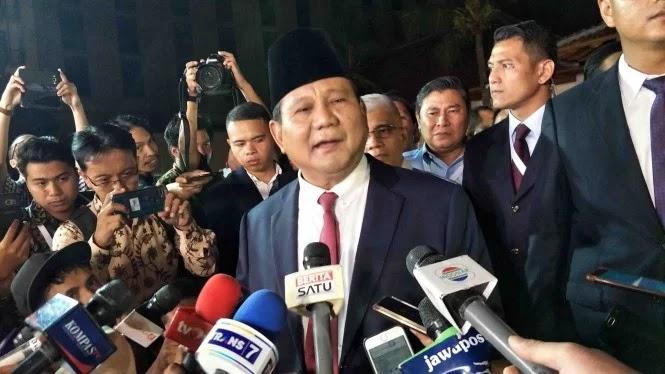 Prabowo Ungkap Kalo Mengangur Tidak Bisa Punya Pacar