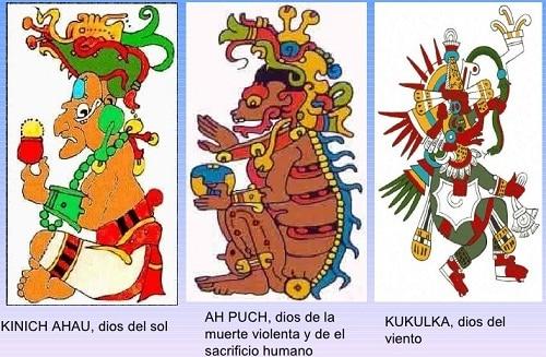 Dioses de la cultura Maya