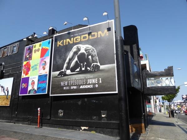 Kingdom midseason 2 billboard Sunset Strip