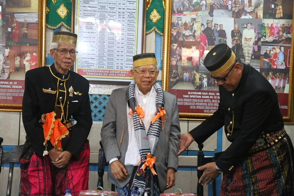KH Maruf Amin Dianugerahi Gelar Karaeng, Garis Keturunan dari Syekh Yusuf