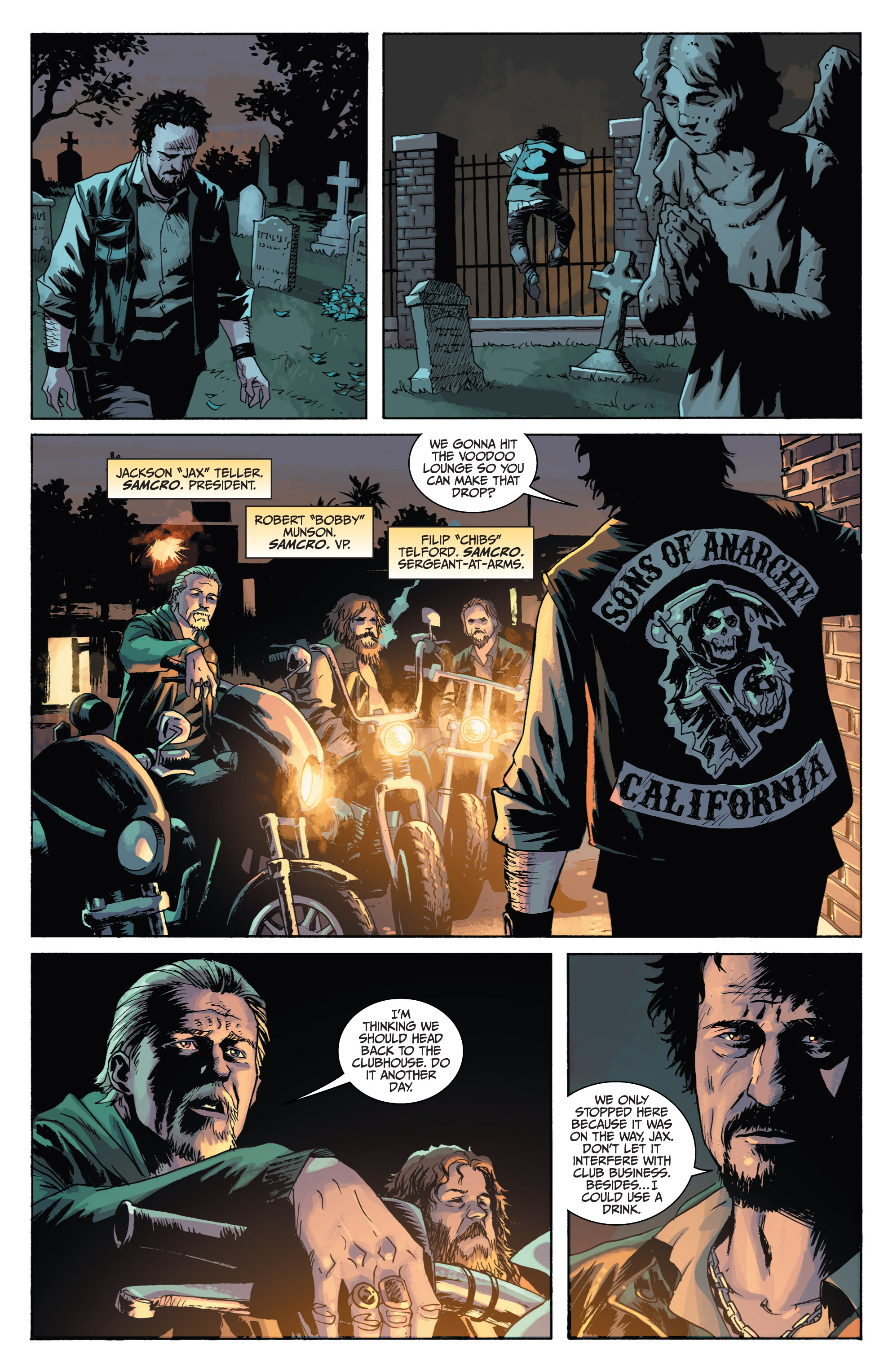 Read online Sons of Anarchy comic -  Issue #1 - 7