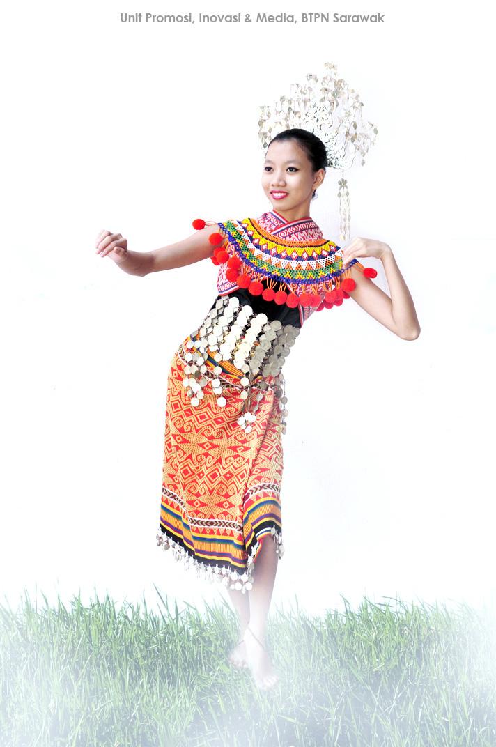 Pakaian Tradisional Di Malaysia Iban