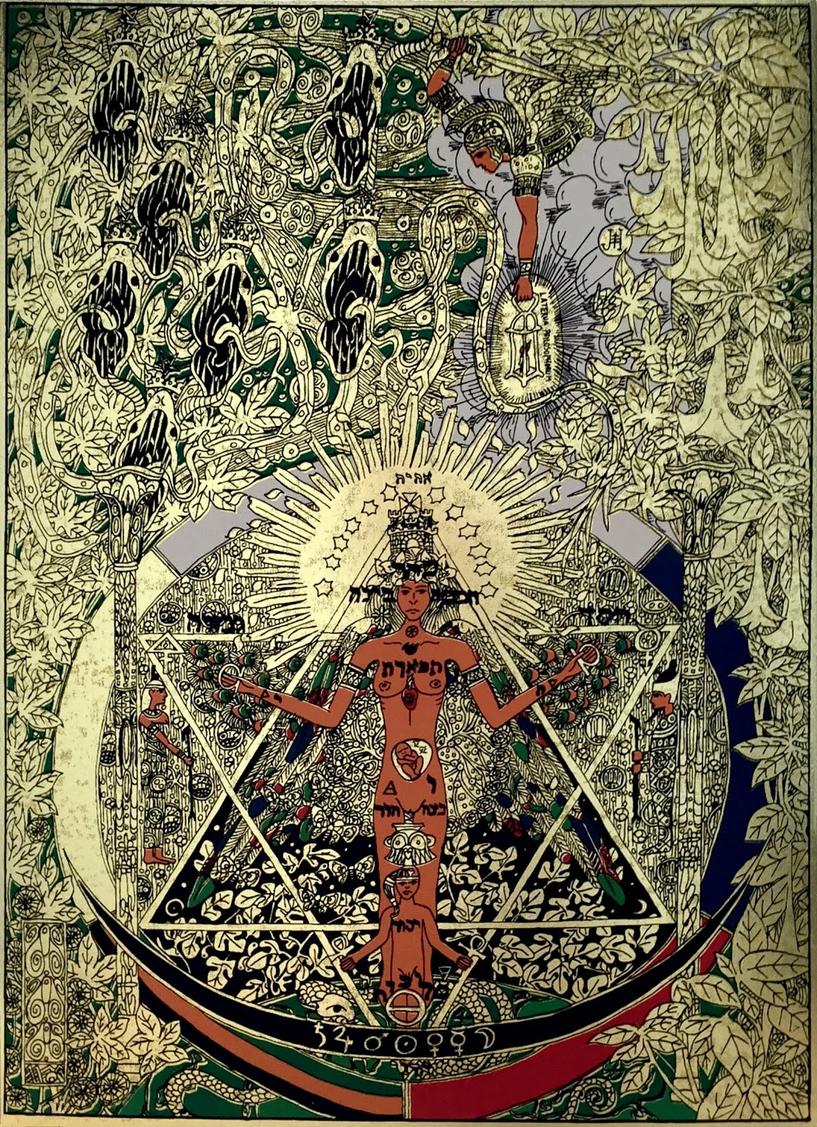 Obraz Panna a drak