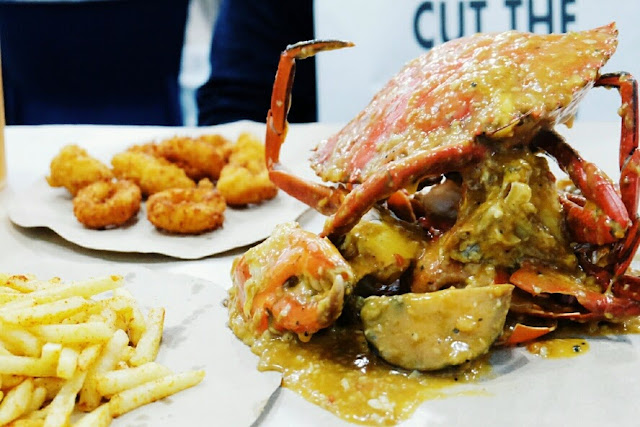 cut the crab