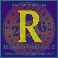 R is for: Reading - A Wandering Vine #AtoZChallenge