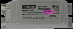 Electronic transformer 20-60 watt load requirement