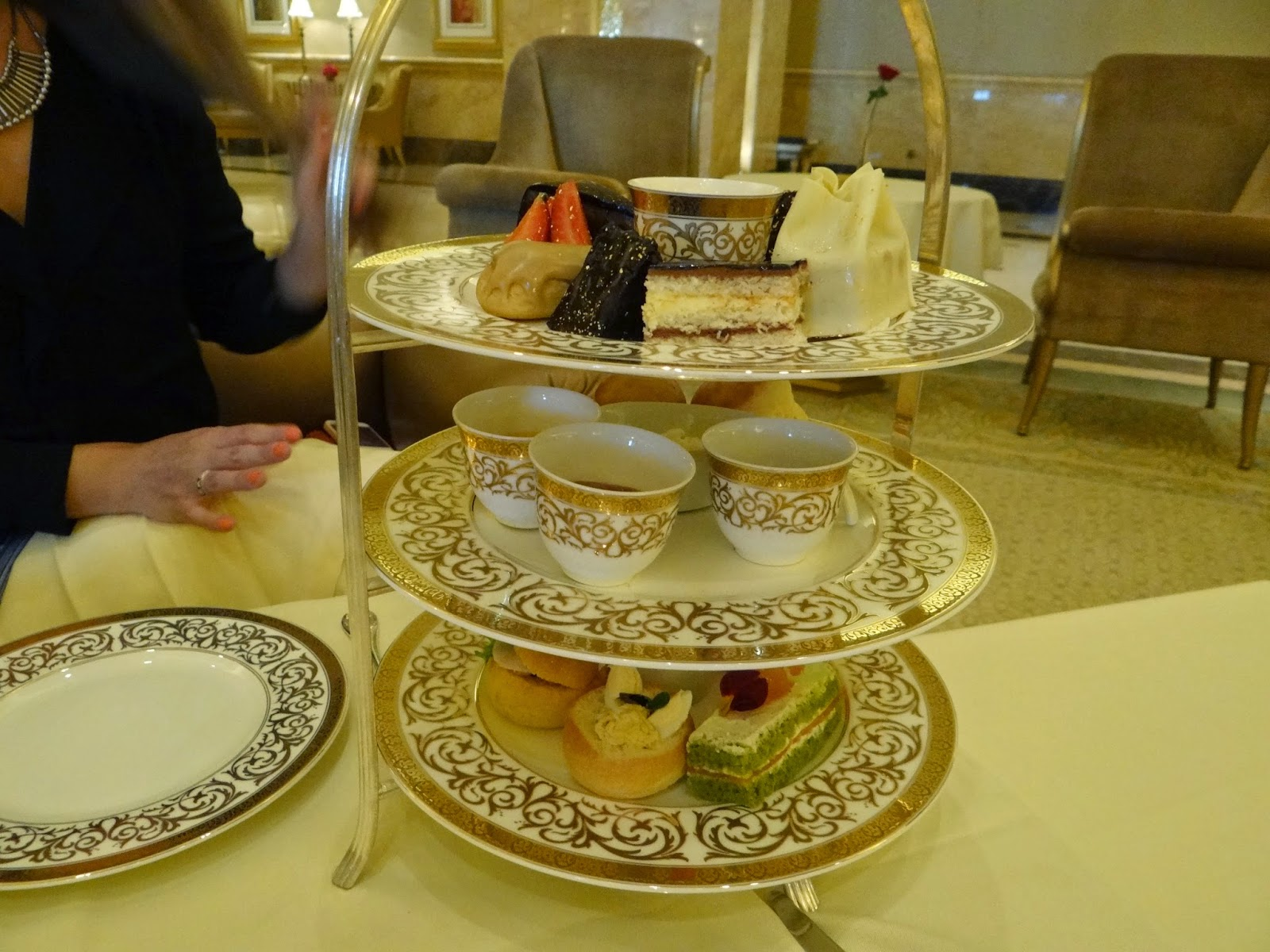 High Tea Emirates Palace Hotel Abu Dhabi