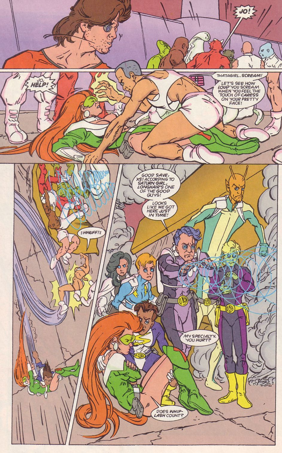 Legion of Super-Heroes (1989) 65 Page 13