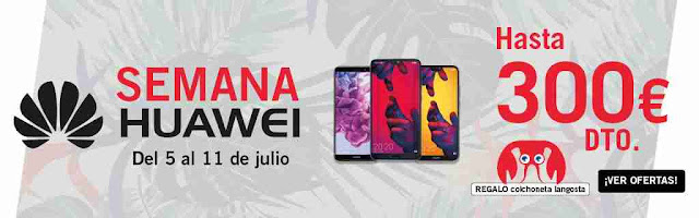 semana Huawei en The Phone House ¡ahorra hasta 300€!