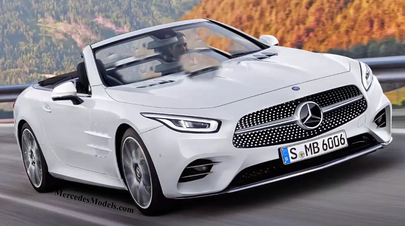 Next Generation 2019 Mercedes SL-Class As Soft Top 2+2