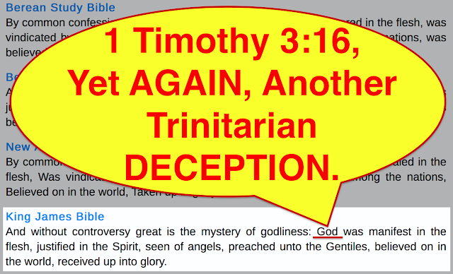 The TRINITY is a CONSPIRACY, because the Trinitarian TRANSLATORS, have secretly, and deliberately created FALSE and TWISTED, and DISTORTED Bible Translations, about GOD and His Son's divinity, nature, and Holiness, by also teaching proved FORGERIES, that MOST do not realise are false.