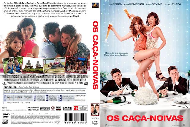 Capa DVD Os Caça-Noivas