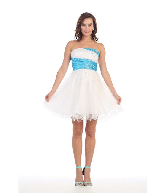 vestidos cortos de fiesta juveniles