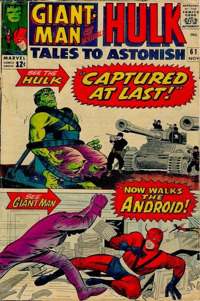 Tales to Astonish #61, the Hulk and Giant-Man