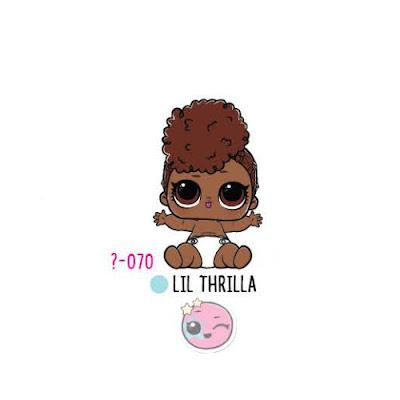 Кукла Lil Thrilla из оригинальных шаров ЛОЛ Сюрприз