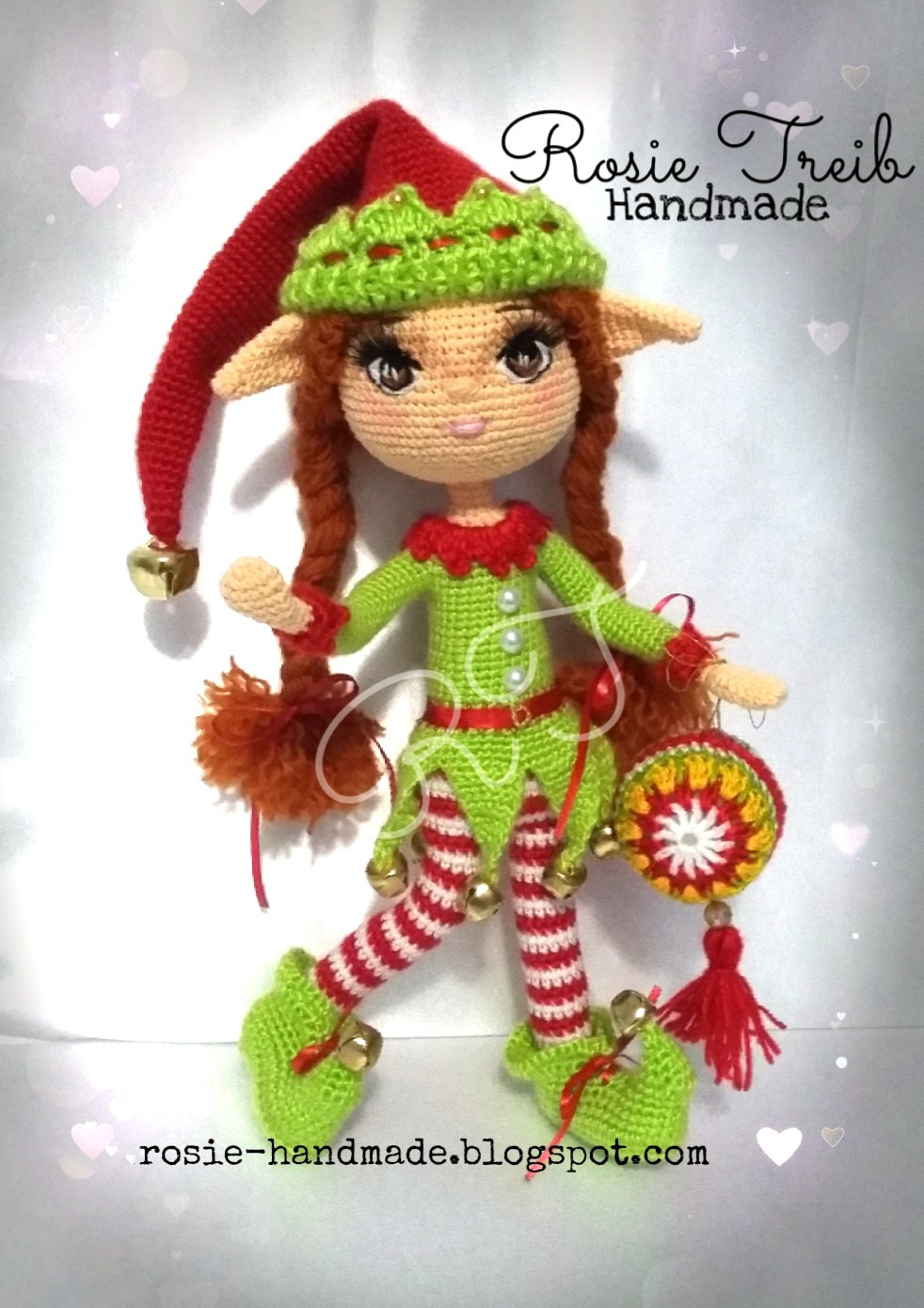 Crochet Christmas Elves Amigurumi Free Pattern - #Amigurumi; #Elf ... | 1390x982