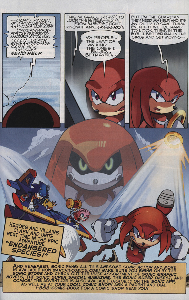 Read online Sonic The Hedgehog comic -  Issue #242 - 31