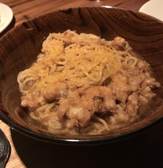 Ramblr, South Yarra, crab noodles