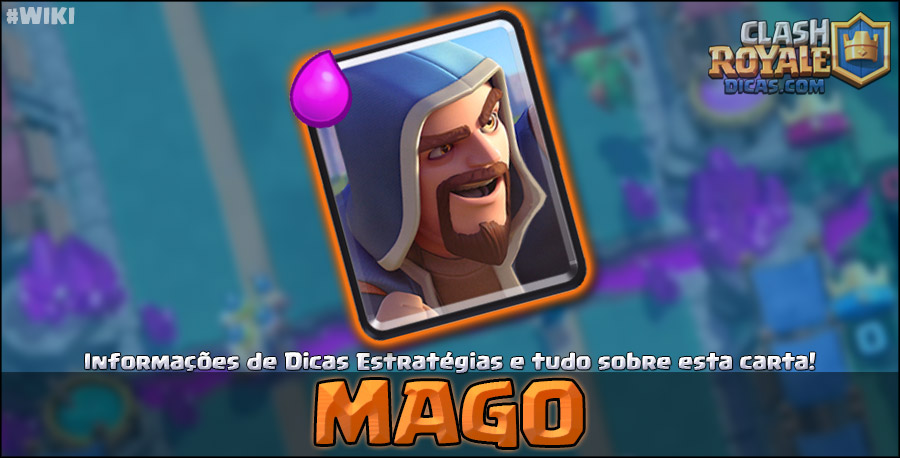 Carta do Mago em Clash Royale