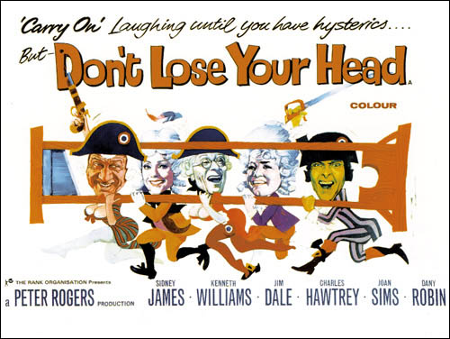 Carry On Don't Lose Your Head poster