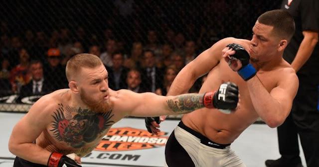 Conor McGregor y Nate Diaz provocan batalla campal