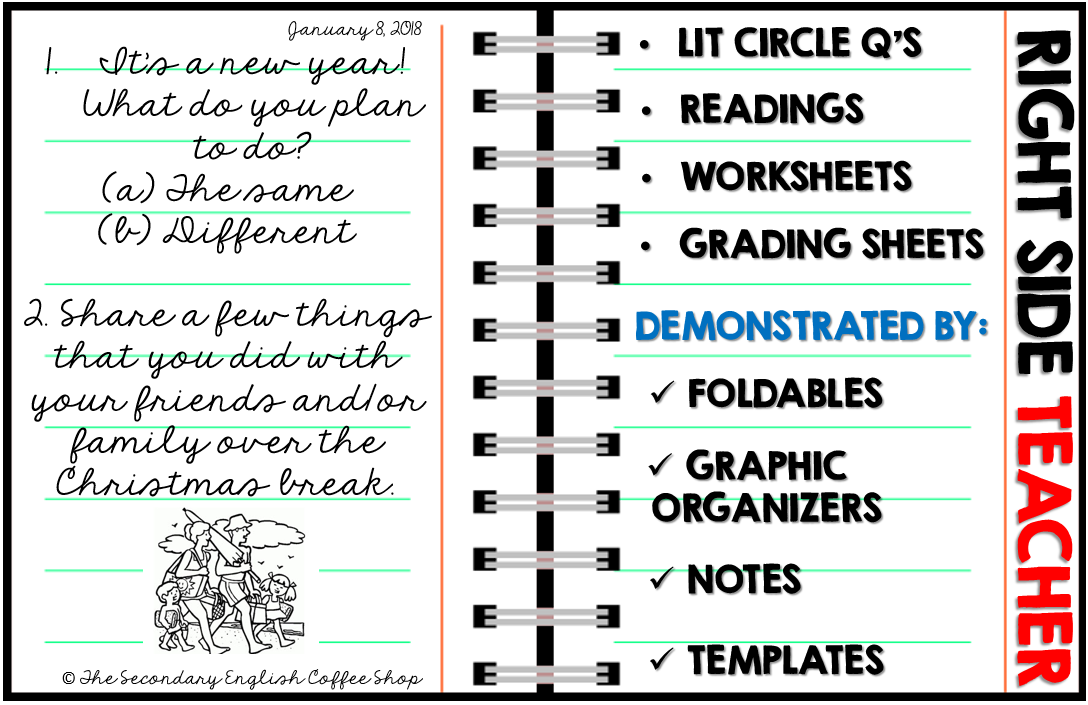 You Might Also Be Interested In These Other Interactive Notebook Activities For ELA