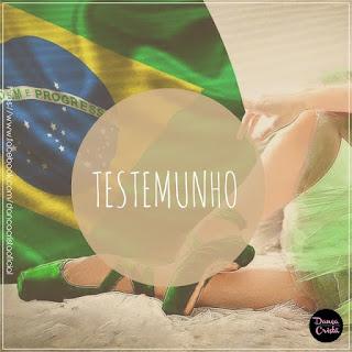 Testemunho da Patricia, ministra de dança, Blog Dança Crista., Por Milene Oliveira.