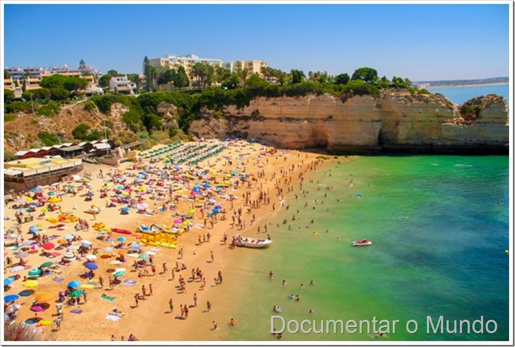 Praia de Nossa Senhora da Rocha; Praias do Concelho da Lagoa; Praias no Algarve; praia acessível