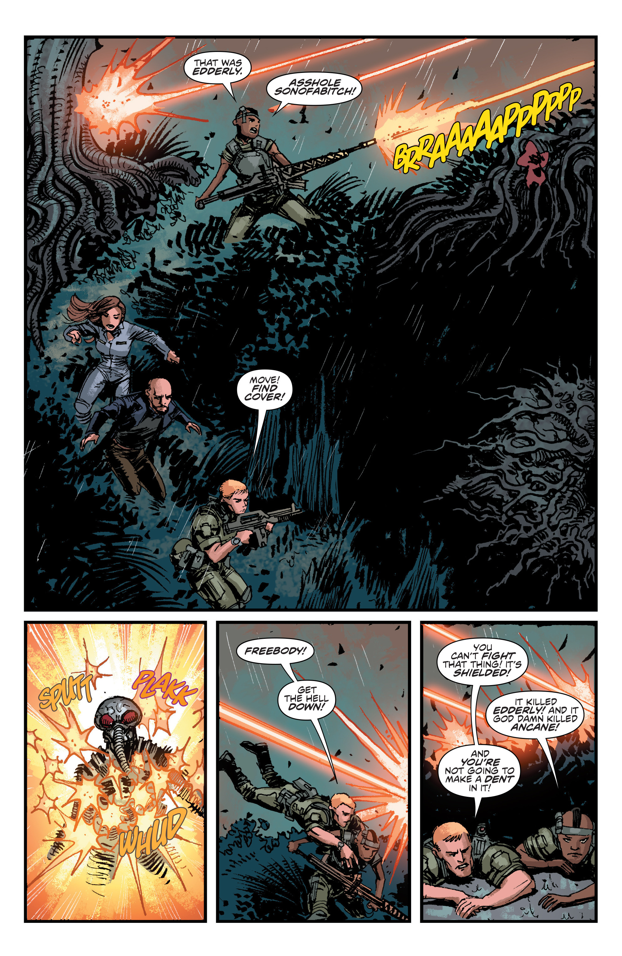 Read online Aliens: Life And Death comic -  Issue #4 - 6