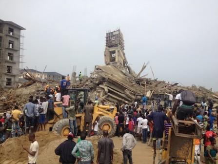 building collapsed lekki lagos