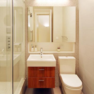 como organizar um banheiro pequeno