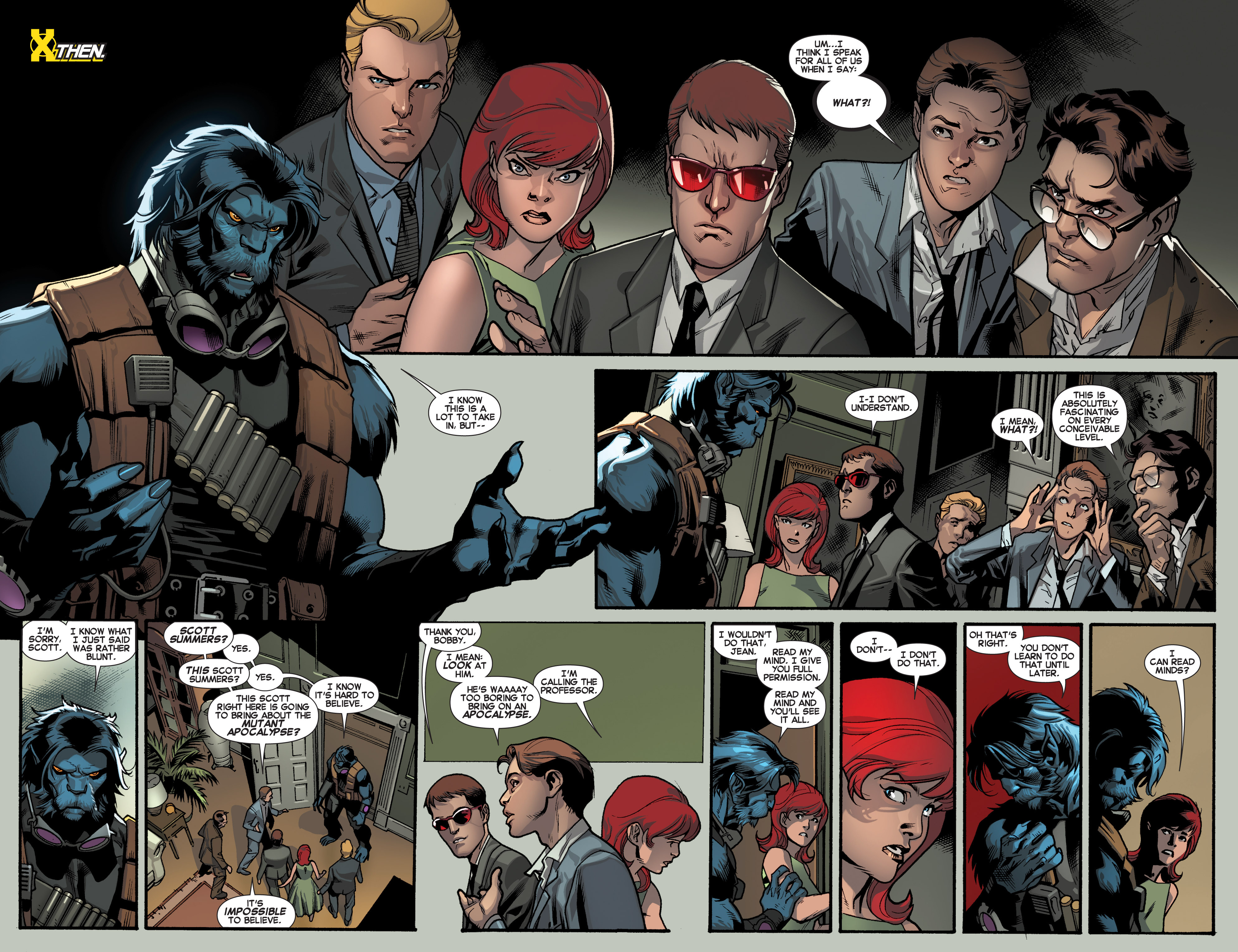 Read online All-New X-Men (2013) comic -  Issue # _Special - Yesterday's X-Men - 31