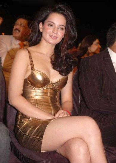 Kangna Ranaut thunder thighs, Kangna Ranaut sexy legs, Kangna Ranaut hot legs, Kangna Ranaut in golden dress, Kangna Ranaut hottest pics, Kangna Ranaut hd wallpaper