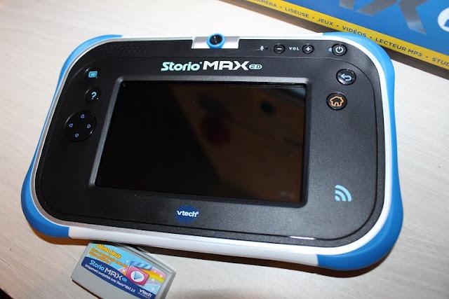 informations sur la storio max 2.0