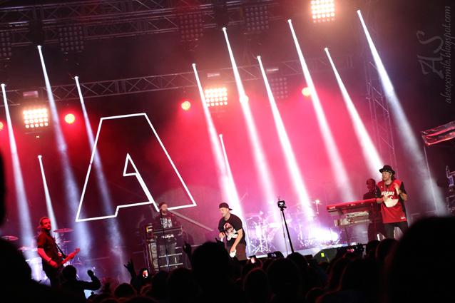 Koncert Afromental - zespół zagrał podczas Dni Świdnicy 2015