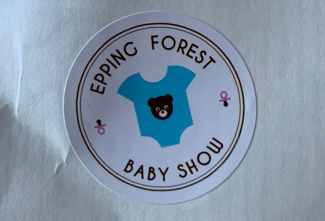 A Epping Forest Baby Show sticker