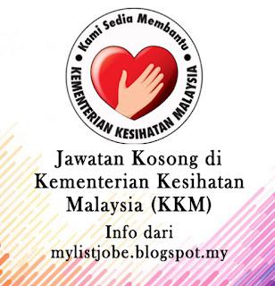 Jawatan Kosong Terkini di Kementerian Kesihatan Malaysia (KKM)