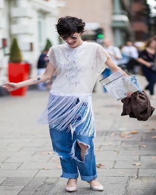 Outfits tumblr con jeans BOYFRIEND que te quedaran perfectos