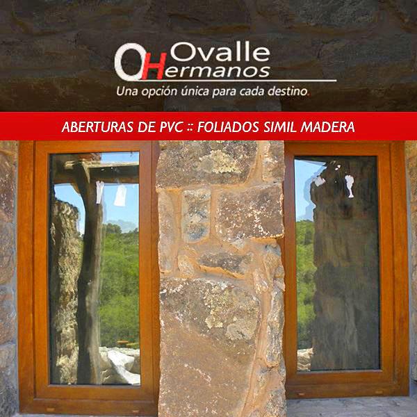 Aberturas de pvc ovalle hnos aberturas de pvc simil madera for Aberturas pvc simil madera precios