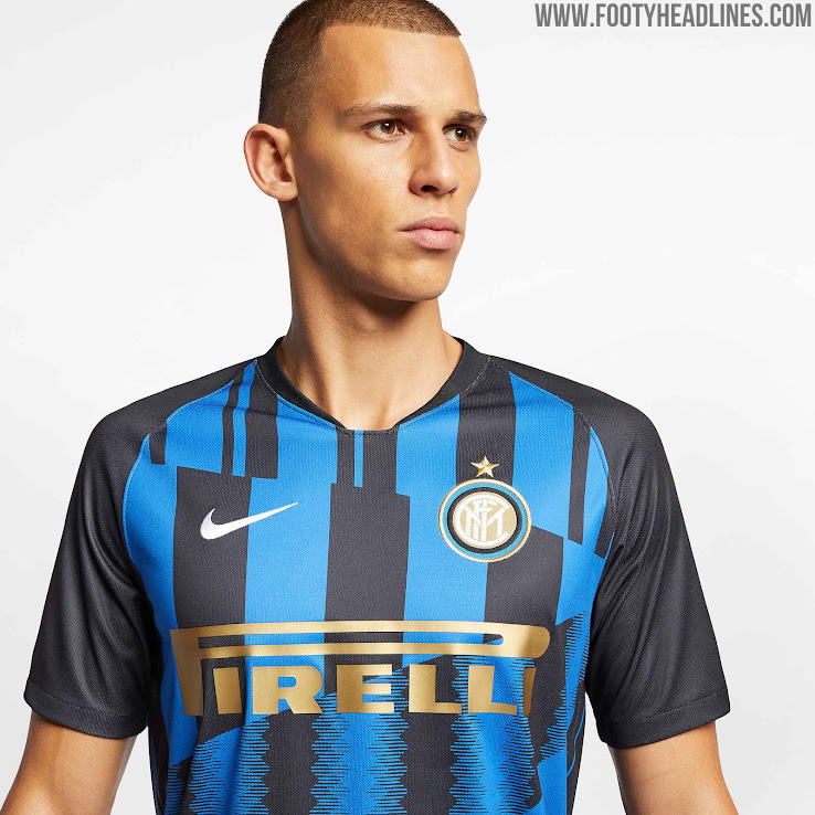 db1e58c96 Nike Inter 20th Anniversary Mashup Jersey Released - Footy Headlines
