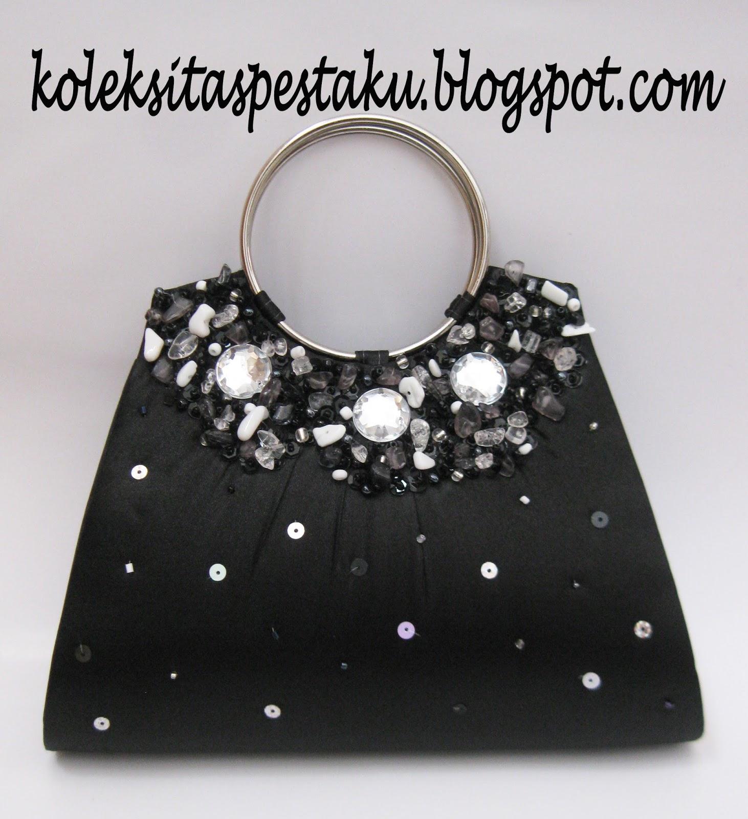 Tas Pesta Dompet Model Terbaru Mewah Elegant Warna Hitam. TAS PESTA - CLUTCH  BAG ... 31af73d642