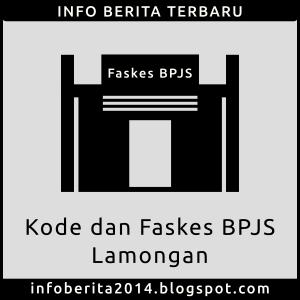 Kode dan Faskes BPJS Kesehatan Lamongan