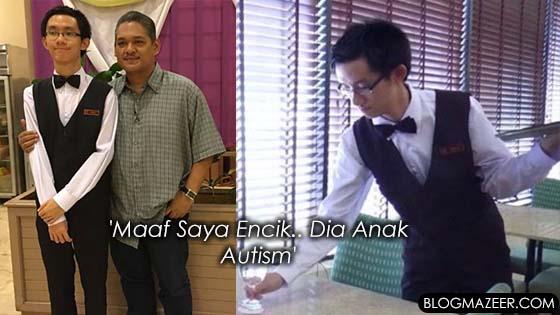 Lihat Bagaimana Anak Autism Ini Hidup Berdikari
