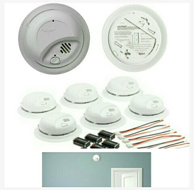 Home Fire Detector Smoke Alarm - First Alert