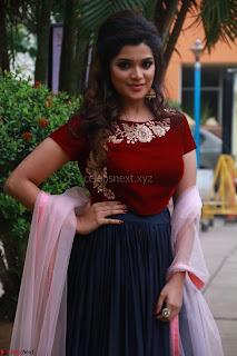 Actress Aathmika in lovely Maraoon Choli ¬  Exclusive Celebrities galleries 080.jpg