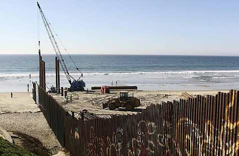 renovate the border fence between the U.S.