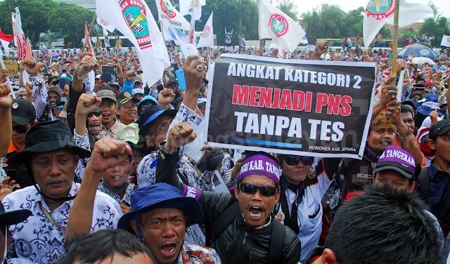 Akhir Oktober, 50 Ribu Tenaga Honorer Ancam Mogok Nasional