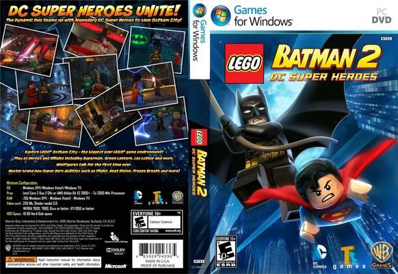 LEGO Batman 2 DC Super Heroes PC Games Save File Free Download ...