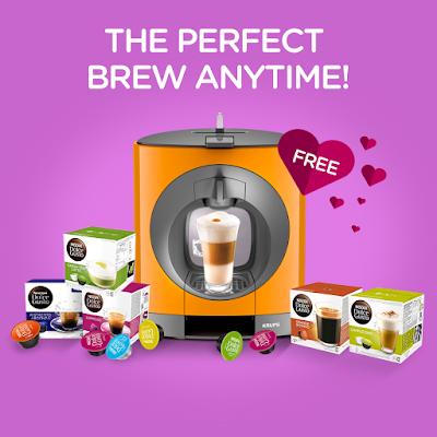 NESCAFÉ Dolce Gusto Malaysia Free Coffee Machine Capsule Online Promo